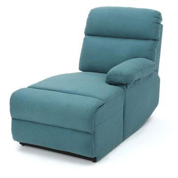 Lazlo Upholstered Chaise Lounge - Christopher Knight Home