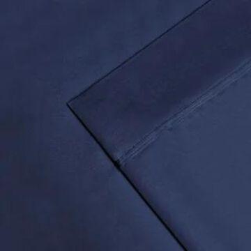 Superior Egyptian Cotton 1200 Thread Count Deep Pocket Bed Sheet Set (King - Navy Blue)