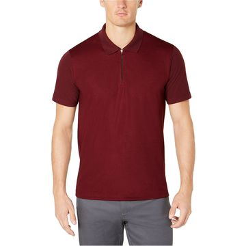 Ryan Seacrest Distinction Mens Pique Rugby Polo Shirt