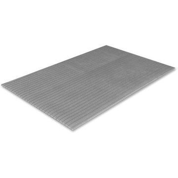 Crown Ribbed Anti-Fatigue Mat, 36 x 60, Gray