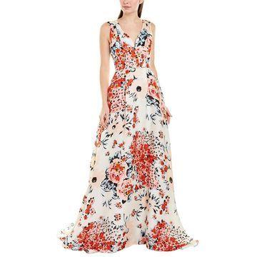 Carolina Herrera Silk Gown