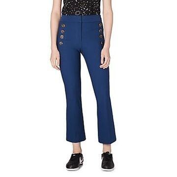 Derek Lam 10 Crosby Adeline Cropped Flared Pants