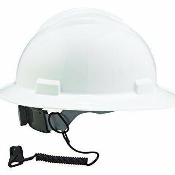 Ergodyne Squids 3158 Coil Hard Hat Lanyard with Clamp Black Industrial safety
