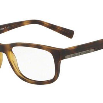 Armani Exchange AX3031F Asian Fit 8029 Men's Glasses Size 55 - Free Lenses - HSA/FSA Insurance - Blue Light Block Available