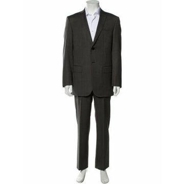 Wool Two-Piece Suit Wool