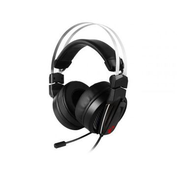 MSI Immerse GH60 Gaming Headset - 3.5 mm headphone jack - 40 kHz maximum frequency responce - High resolution audio - Ergonomic suspension design for comfort - Premium carrying pouch included