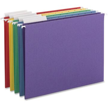 Smead SMD64020 1/3 Cut Adjustable Tab Colored Hanging Folders Pack of 25