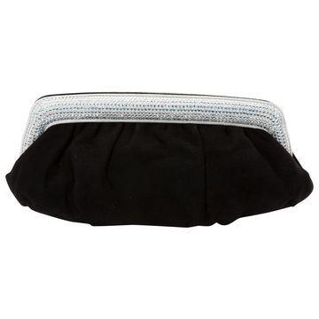 Le Silla Black Suede Clutch bags