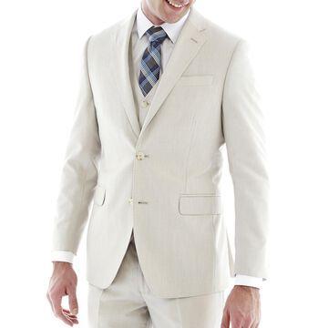 JF J. Ferrar End-on-End Suit Jacket - Slim Fit
