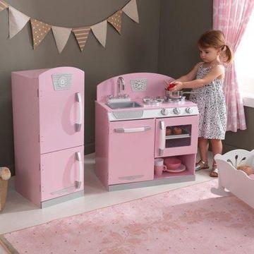KidKraft Pink Retro Kitchen & Refrigerator