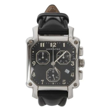 Hamilton Black Steel Watches