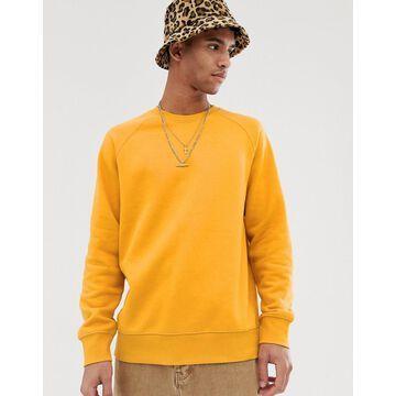 Weekday Paris sweatshirt in orange