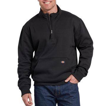 Big & Tall Dickies Mobility Fleece Quarter-Zip Pull-Over Jacket