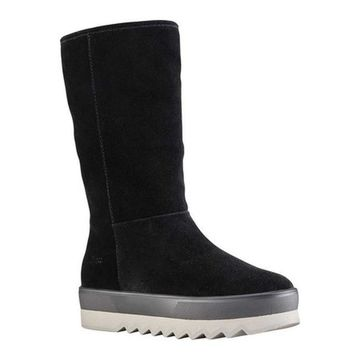 Cougar Women's Vail Pull On Tall Boot Black Suede