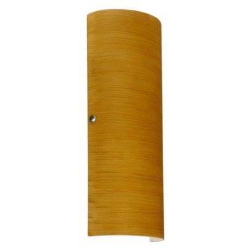 Besa Lighting 8193OK-LED Torre Wall Sconce, Oak Glass