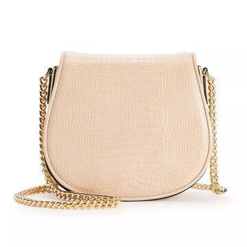 AmeriLeather Alaina Leather Crossbody Bag