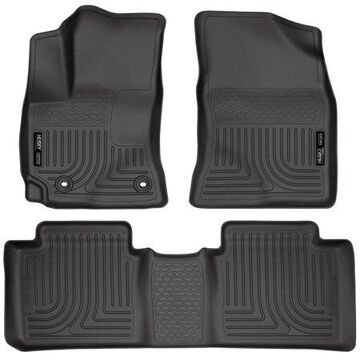 Husky Liners Front & 2nd Seat Floor Liners Fits 14-18 Corolla
