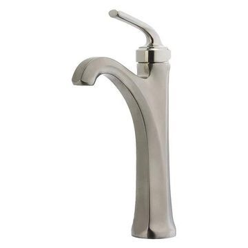 Pfister LG40-DE0K Brushed Nickel Arterra Single-Handle Vessel Faucet