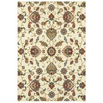 Oriental Weavers Kashan 9946W Ivory/Multi 1'10