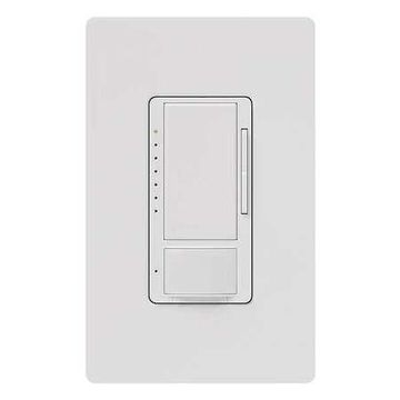 LUTRON MSCL-OP153M-WH Occupancy Sensor,PIR,900 sq ft,White