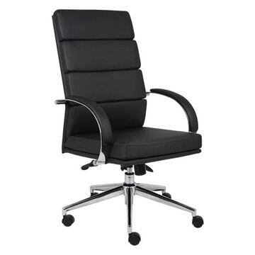 Boss B9401-BK Caressoftplus Executive Chair, Black