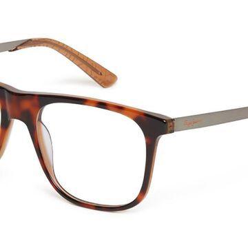 Pepe Jeans PJ3365 C2 Men's Glasses Tortoise Size 55 - Free Lenses - HSA/FSA Insurance - Blue Light Block Available