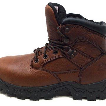 Rocky Men's RKK0190 Construction Boot, Brown, 4.5 W US