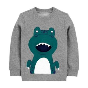 Carter's Toddler Boys Dinosaur French Terry Pullover