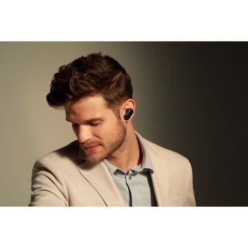 Sony WF-1000XM3 True Wireless Headphones In Ear Noise Cancellation Bundle Black