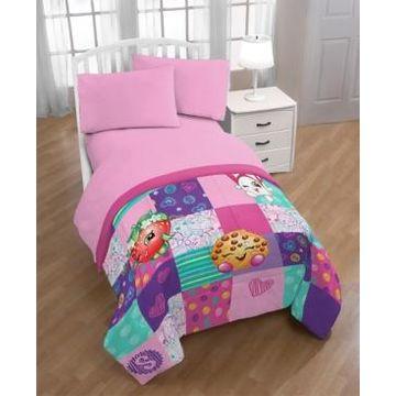Shopkins Fun Twin Quilt with Sham Bedding
