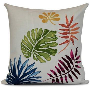 Simply Daisy, Brambles, Floral Print Outdoor Pillow