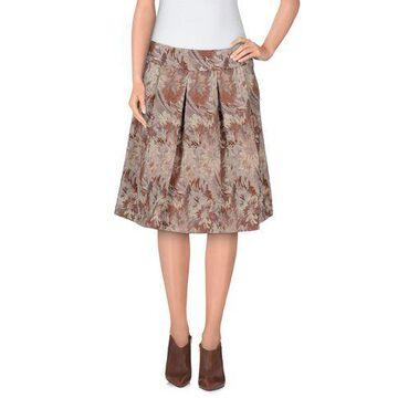 ERIKA CAVALLINI Knee length skirt