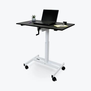 Luxor Single Column Crank Stand-up Desk
