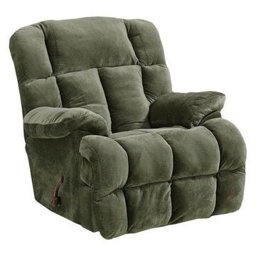 Chaise Rocker Recliner in Sage