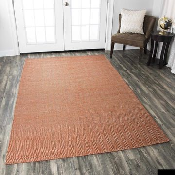 Rizzy Home Twist Collection Chevron Rug