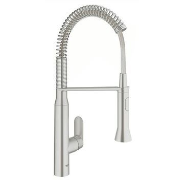 GROHE K7 Foot Control Touch Single-Handle Kitchen Faucet