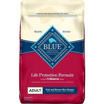 Blue Buffalo Life Protection Formula Adult Fish & Brown Rice Recipe Dry Dog Food