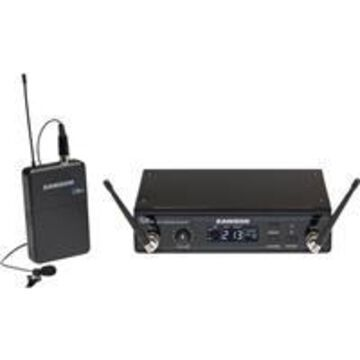 Samson Concert 99 Presentation Frequency-Agile UHF Wireless System Includes CR99 Receiver, CB99 Beltpack Transmitter, LM10 Lavalier Mic, K: 470-494MHz