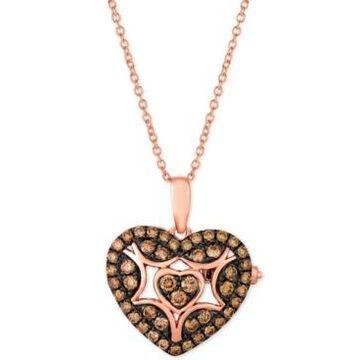 Le Vian Chocolatier Chocolate Diamond Heart 18