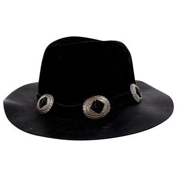 The Kooples Black Wool Hats