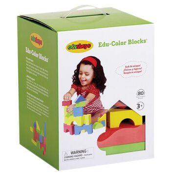 Edushape Edu-Color Blocks 80 Pieces