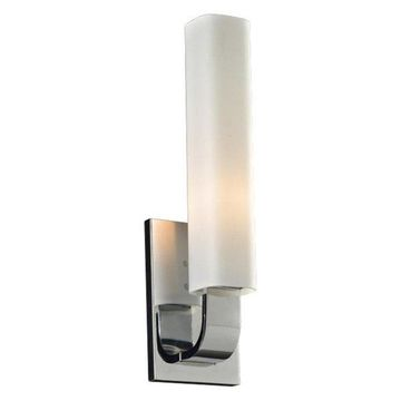 PLC Lighting 7591PC 1-Light Wall Sconce Solomon Collection