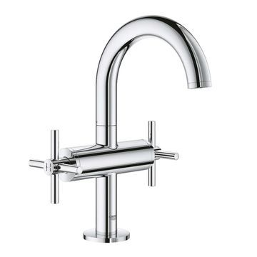 Grohe Atrio Centerset Bathroom Sink Faucet Kit with Cross Handles