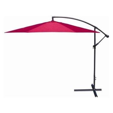 Jordan Manufacturing Offset Umbrella, Red, 10'