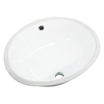 Transolid, Bathroom Sink, White, 14