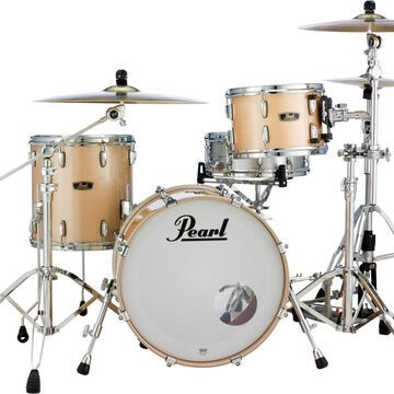 Vintage Hybrid Wood Fiberglass Series 3-Piece Shell Pack with 20 in. Bass Drum