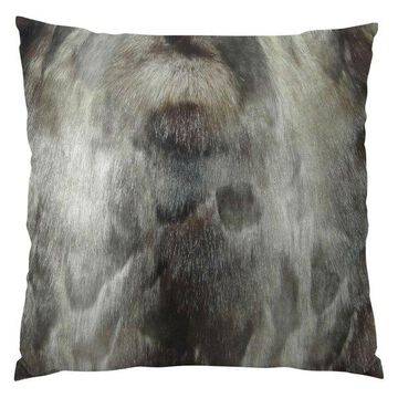 Plutus Brand Ash Handmade Throw Pillow, Double Sided, 20x30 Queen