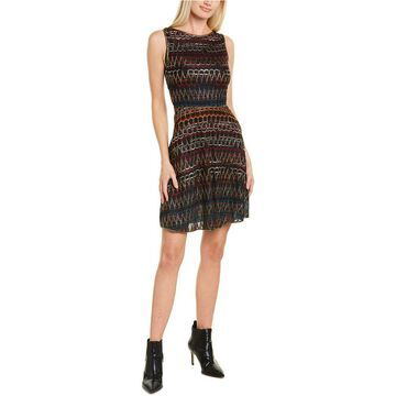 Missoni Abito Senza Maniche Silk-Blend A-Line Dress