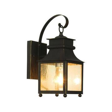Trans Globe 45630 WB 1-Light Coach Lantern