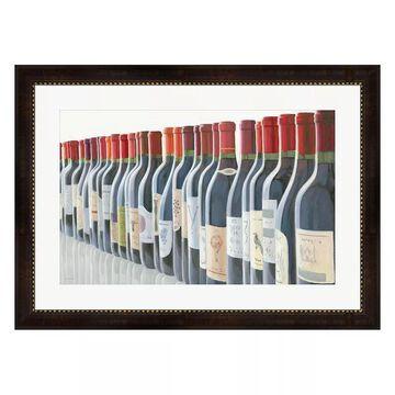 Metaverse Art Splendid Reds Framed Wall Art, Multicolor, Medium